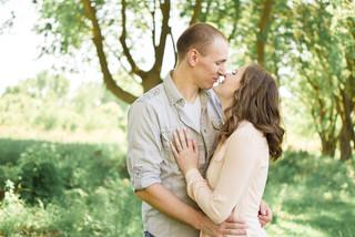 Kyra & Skylar, Spring Engagement Ames, IA