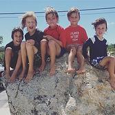 kids at beach sag harbor