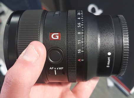 Trying the new Sony 24mm F/1.4 G-Master and attending a Roadshow event.