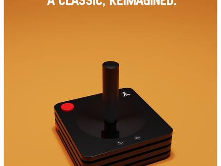 Atari VCS Modern Classic Controller 3D Model gets recognised by the Atari.