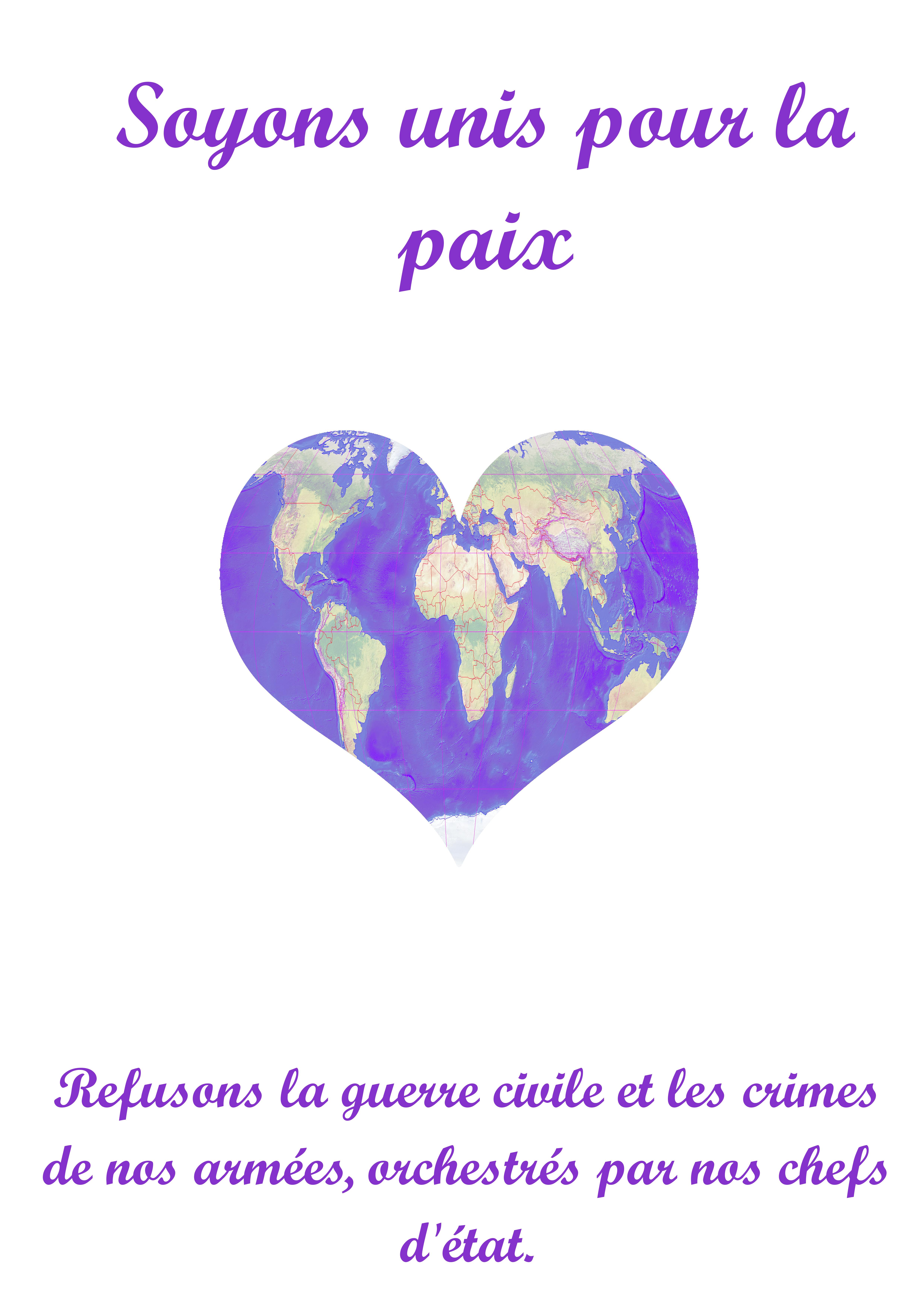 Affiche_Nous sommes la paix