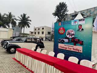 KVCCC-Rotary rally on 17 January, 2021