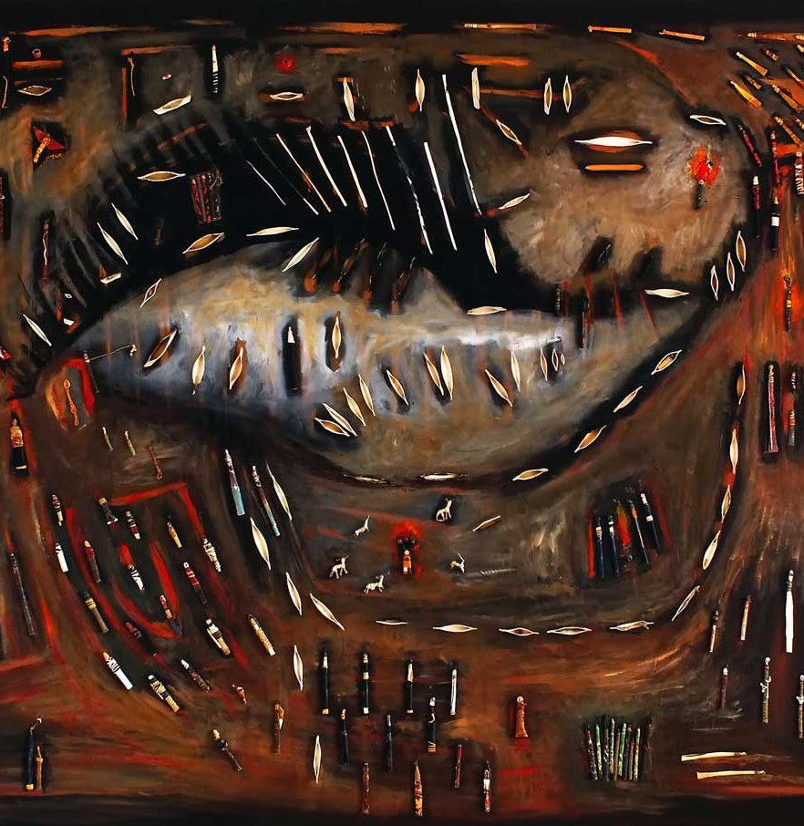 cuadro-arte-objeto-Ancestral-Veronica-Tr