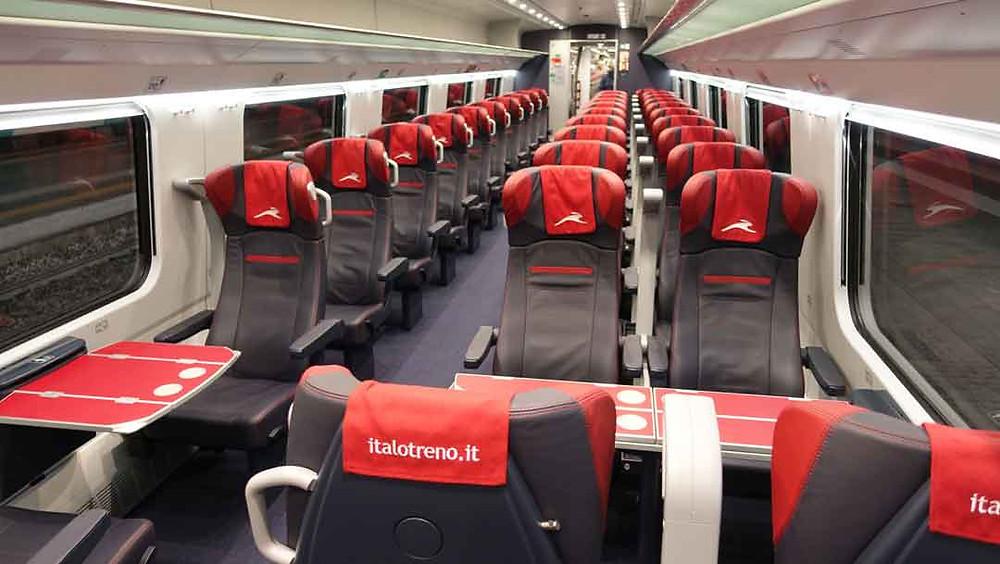 Viajar en tren estando en Italia es tan rápido como moverse con el avión