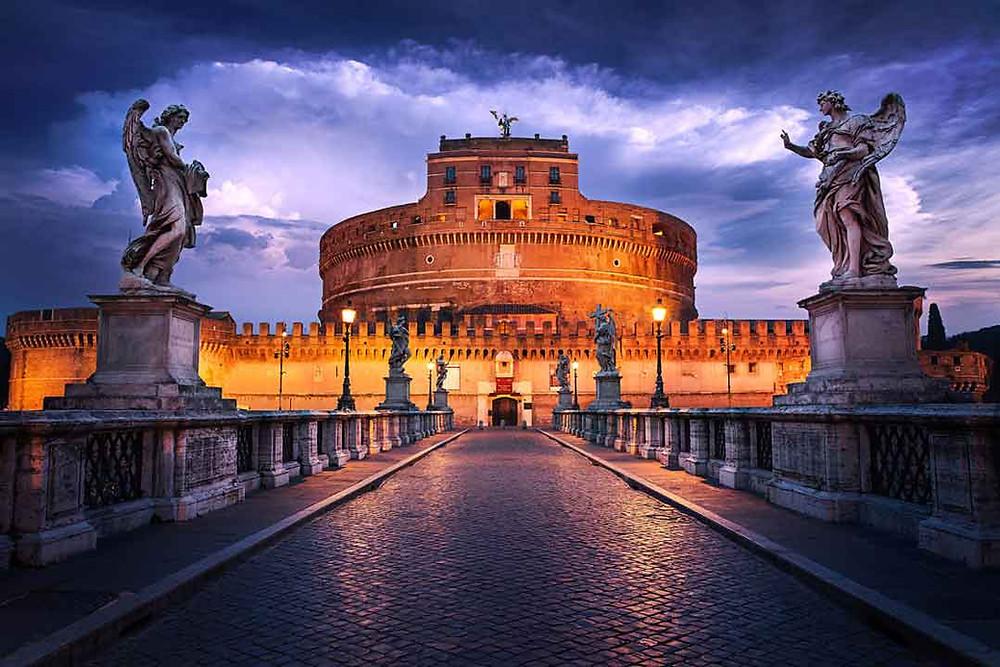 Sensi in Viaggio, viaje a Italia. Castel Sant'Angelo en Roma. Recorrer Roma con los 5 sentidos.