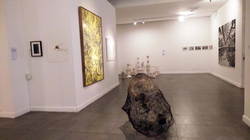 Obras de arte seleccionadas, último piso de la Casa del Bicentenario.
