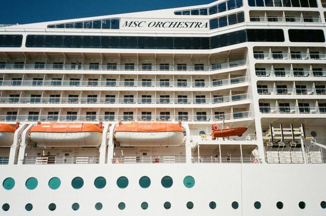 """MSC crucero """"Orchestra"""". Junto a COSTA, son las dos compañías italianas más importantes del mundo"""