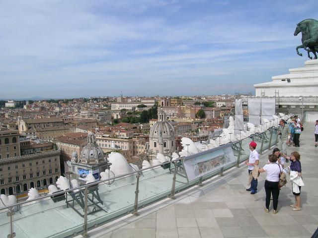 Viaja a Roma Vista panorámica desde el Vittoriano, Roma