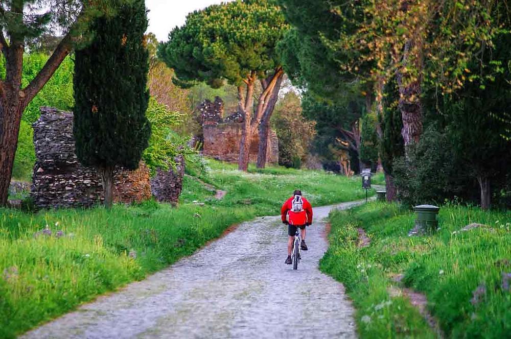 La naturaleza en la ciudad de Roma