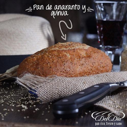 Pan de Quinua y Amaranto | Pack 4