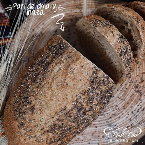 Pan de Chia y Linaza | Pack 4