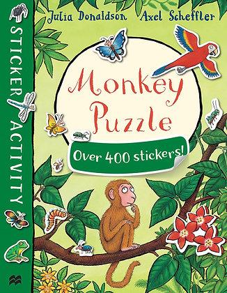 Monkey Puzzle Sticker Activity Book