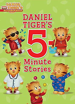 Daniel Tiger's Neighborhood: Daniel Tiger's 5 Minutes Stories