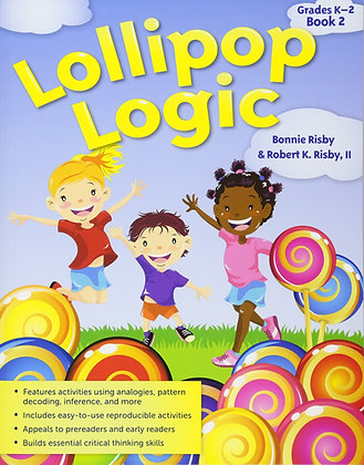 Lollipop Logic Book 2: Critical Thinking Activities