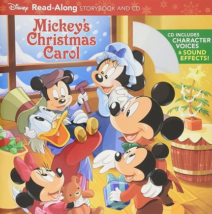Mickey's Christmas Carol Read-Along Storybook & CD