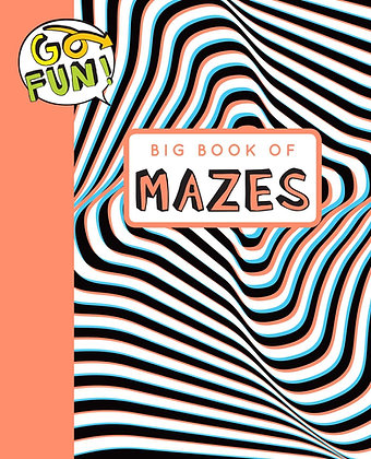Go Fun! Big Book of Mazes 2