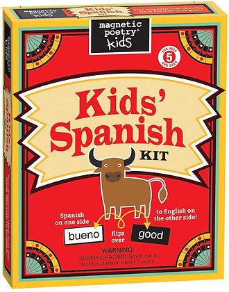 Magnetic Poetry Kids - Kids' Spanish Kit