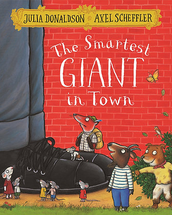 The Smartest Giant in Town - Paperback