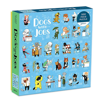 Dogs With Jobs (500 Piece Puzzle)
