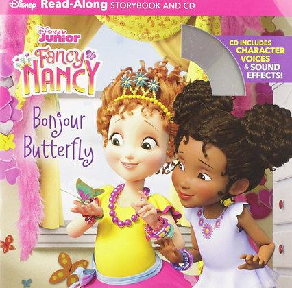 Fancy Nancy Read-Along Storybook and CD: Bonjour Butterfly