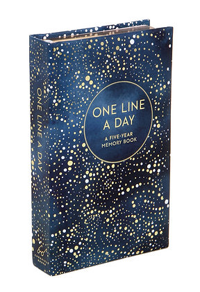 Celestial One Line a Day: A Five-Year Diary Book