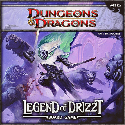 Dungeons & Dragons Board Game: The Legend of Drizzt