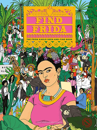 Find Frida: The Frida Kahlo Seek-and-Find Book