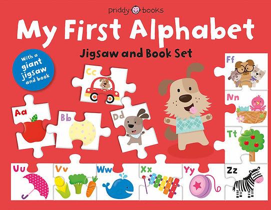 My First Alphabet Jigsaw and Book Set