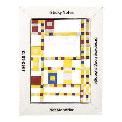 MoMA Mondrian Sticky Notes