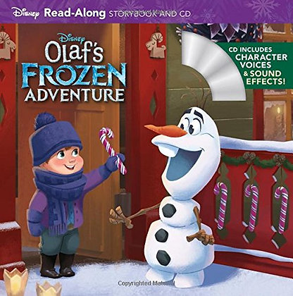 Olaf's Frozen Adventure Read-Along Storybook and CD