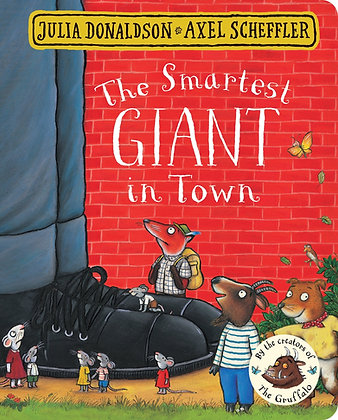 The Smartest Giant in Town - Board Book
