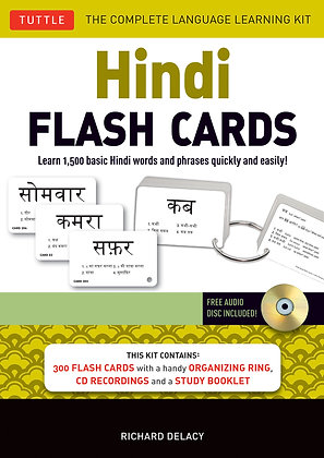 Hindi Flash Cards Kit