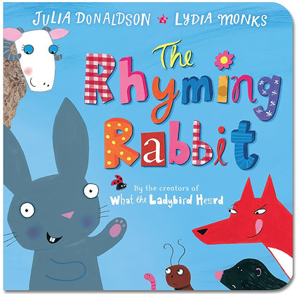 The Rhyming Rabbit - Board Book
