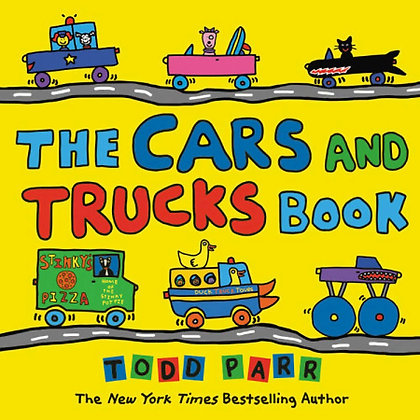 The Cars and Trucks Book - Hardcover