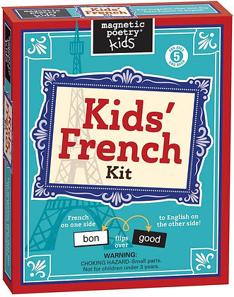 Magnetic Poetry - Kids' French Kit
