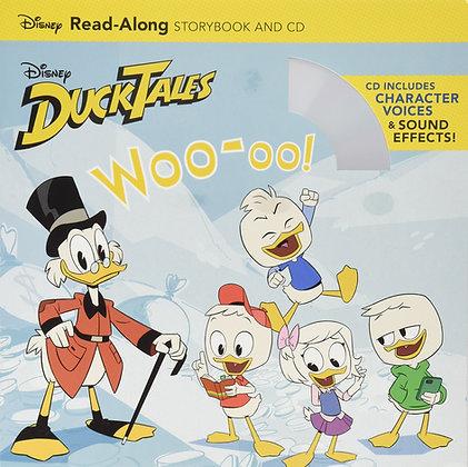 DuckTales: Woo-oo! Read-Along Storybook and CD