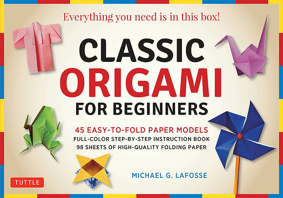 Classic Origami for Beginners Kit