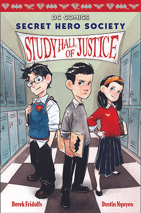 Study Hall of Justice (DC Secret Hero Society #1)