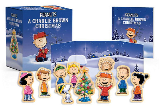 Peanuts A Charlie Brown Christmas Wooden Collectible Set
