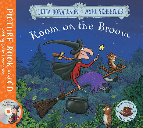 Room on the Broom - Book and CD
