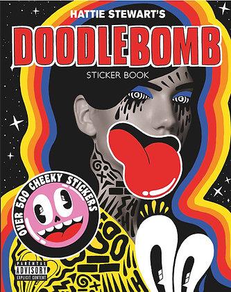Hattie Stewart's Doodlebomb Sticker Book