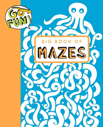 Go Fun! Big Book of Mazes