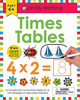 Wipe Clean Workbook: Times Tables
