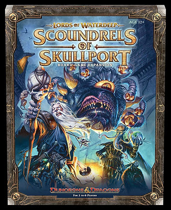 Dungeoun & Dragons Board Game: Scoundrels of Skullport