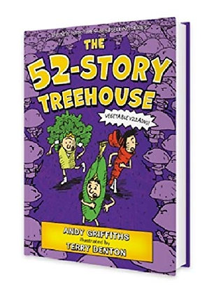 The 52-Story Treehouse: Vegetable Villains!