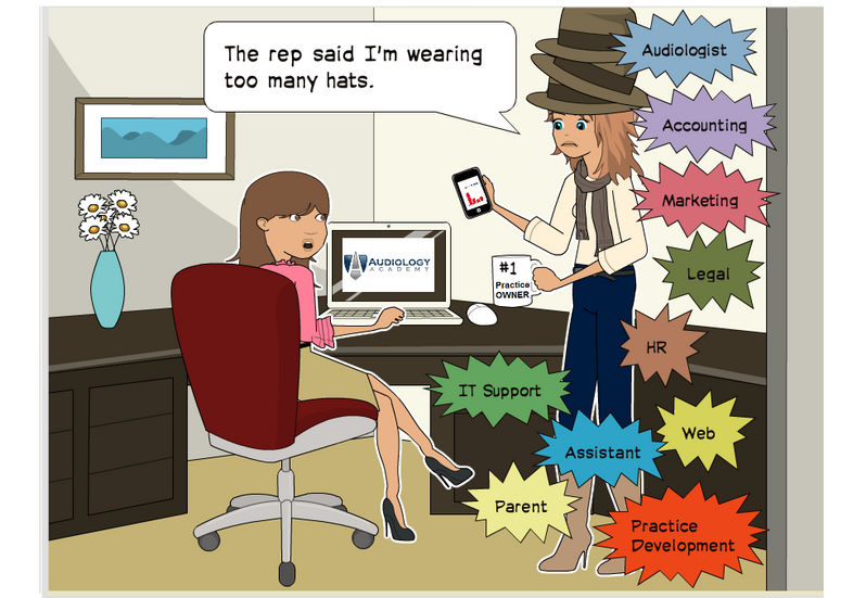 Audiologist can wear too many hats
