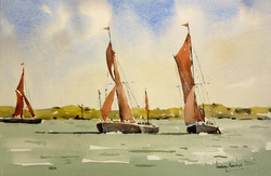 'Racing Thames Barges'