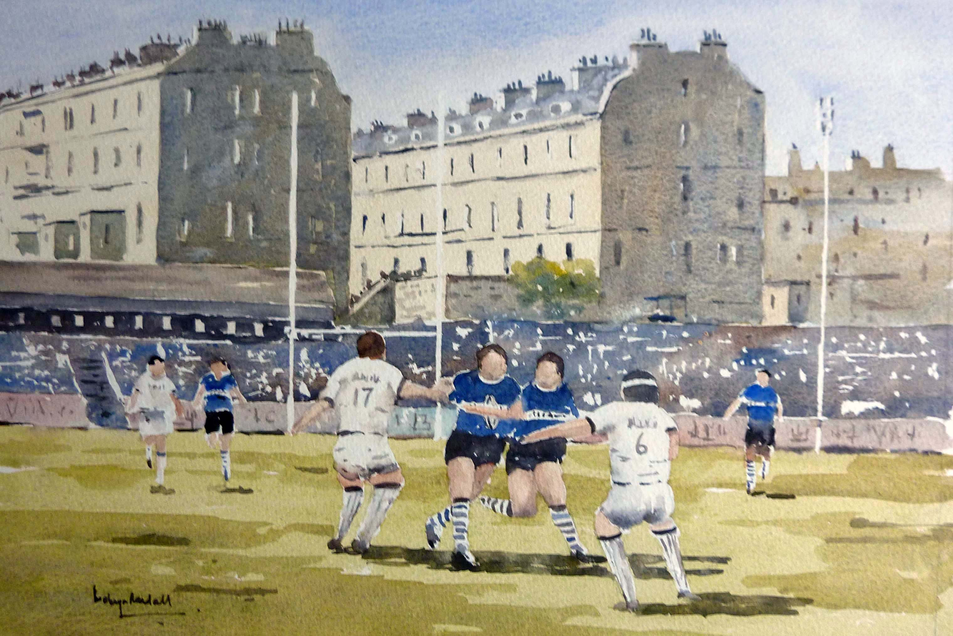 Bath Rugby at the Reck