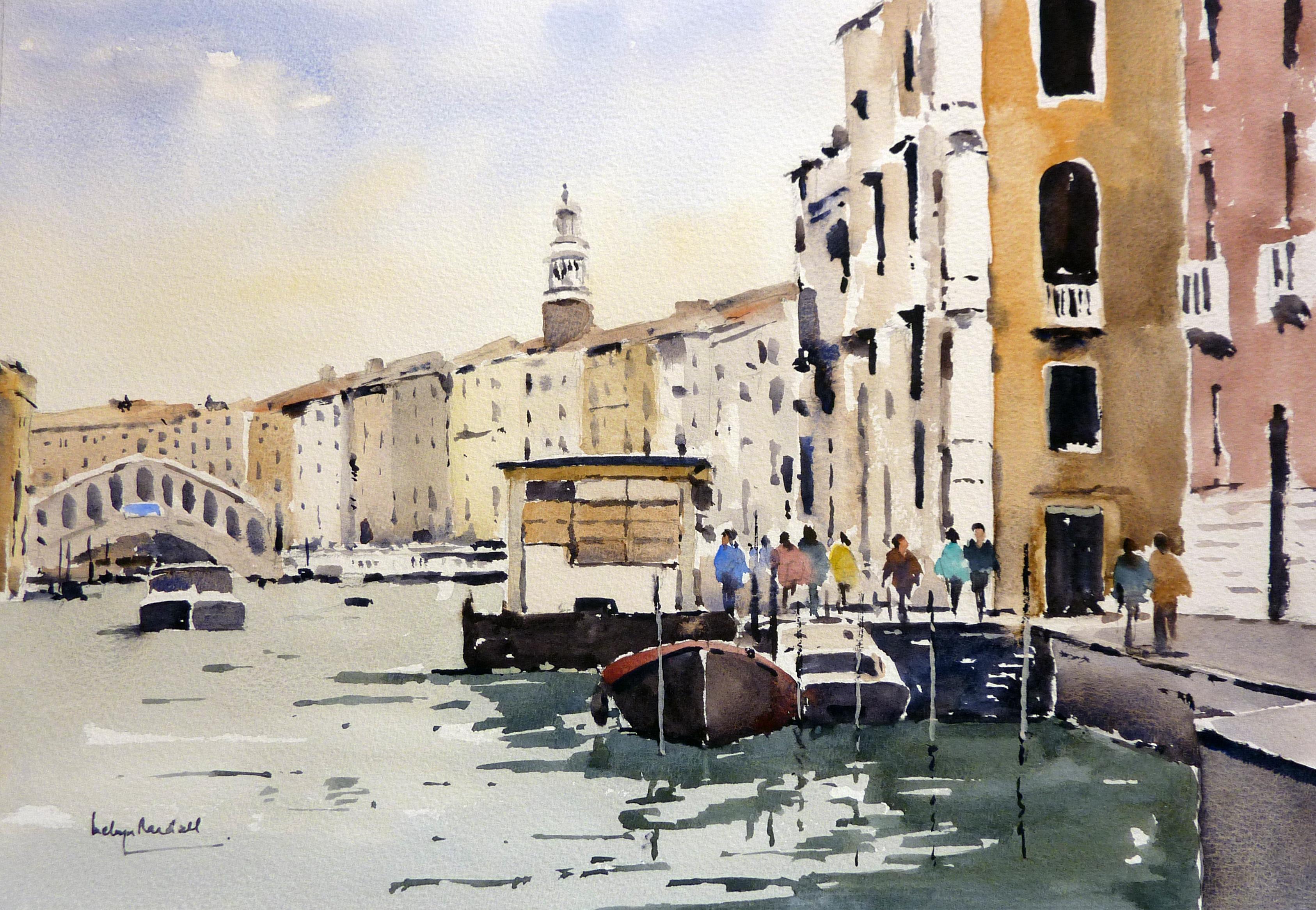 The Vapretto Station,  Venice