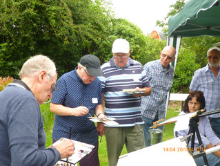 Watercolour Demonstration June 2015 for the Southend Art Society.